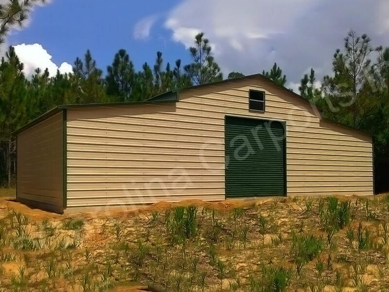 Boxed Eave Roof Style Carolina Barn Garage