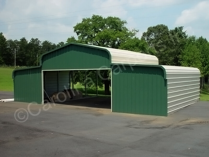 Regular Style Horse Barn with Two Ends Closed