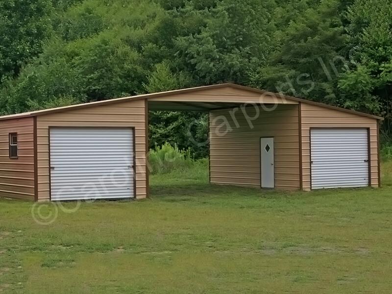 Boxed Eave Roof Style Seneca Barn