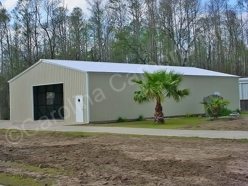 All Vertical Fully Enclosed Garage-348