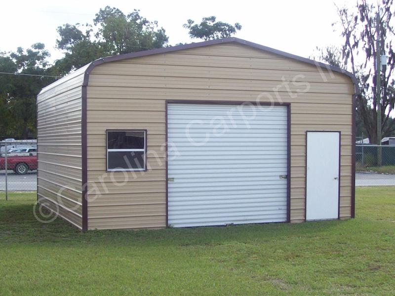 Garage with 9x8 Garage Door on End-394
