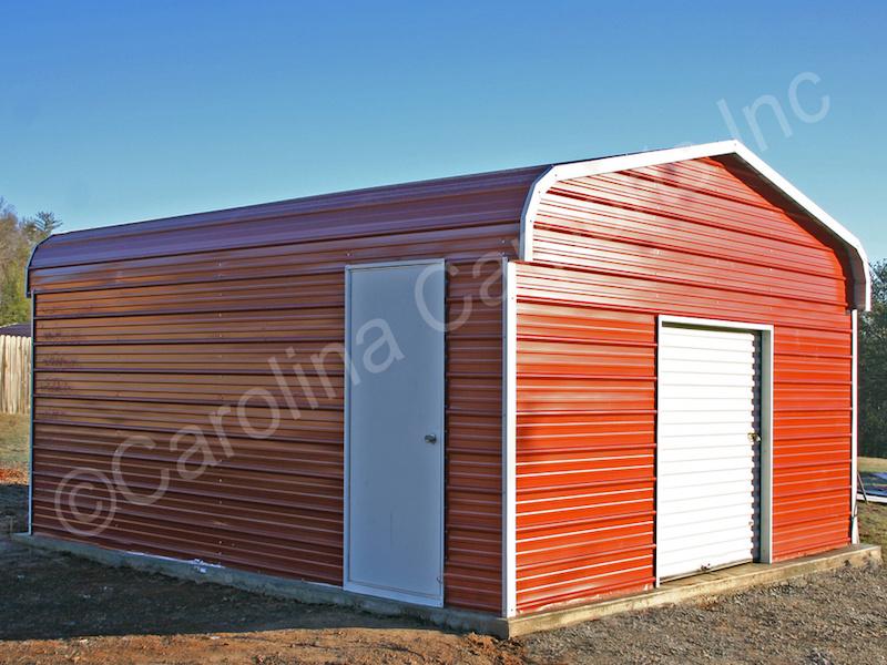 Garage with a 6x6 Garage Door-395