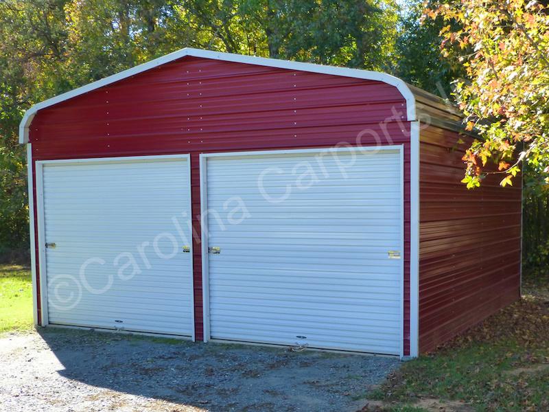 Garage with Two 9x8 Garage Doors-398