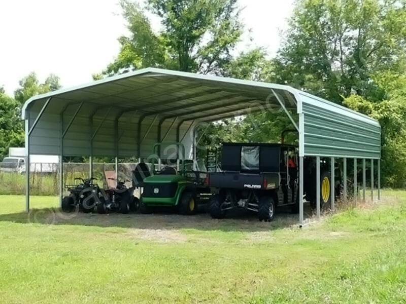 Regular Style Carport with One Panel-259