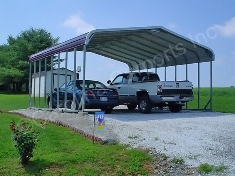 Regular Style Double Carport