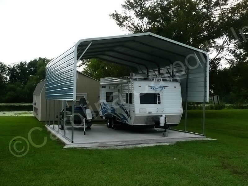 Regular Style Carport with Two Panels-271