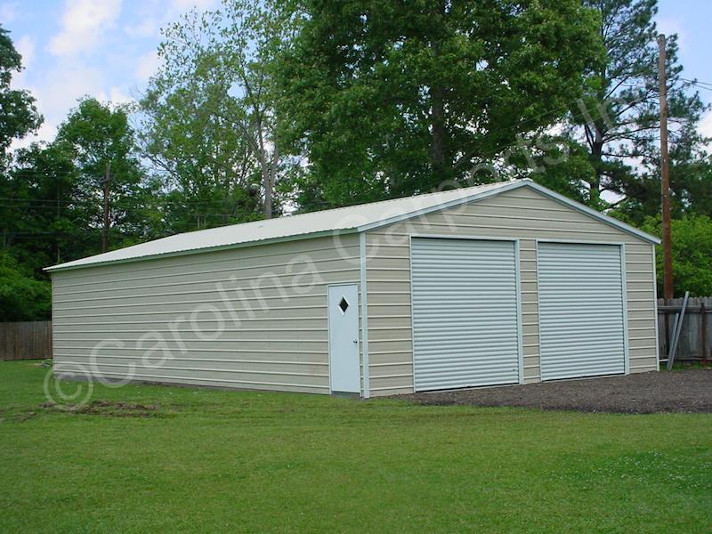 Garage with Two 10x10 Garage Doors