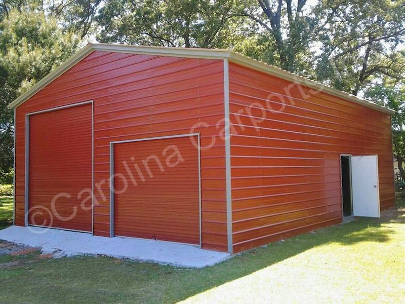 Garage with Two Garage Doors