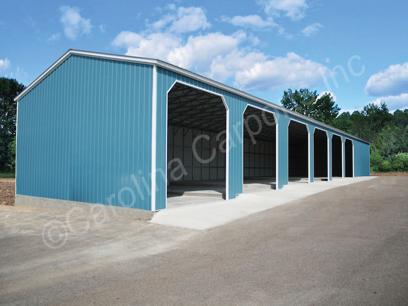 Garage with Side Entrys