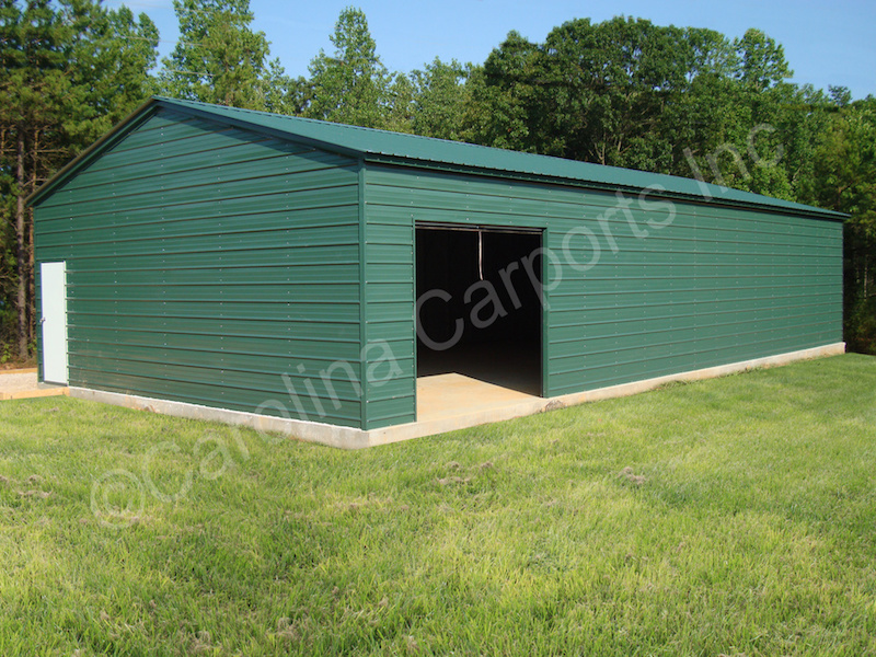 Vertical Roof with Horizontal Sides and Ends